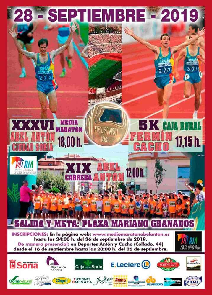 XXXVI Media Maratón Soria Abel Antón