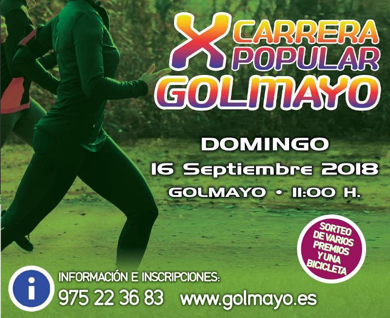 X Carrera Popular de Golmayo