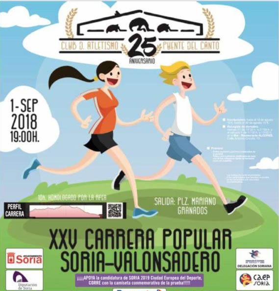 XXV Carrera P. 10 K Soria-Valonsadero