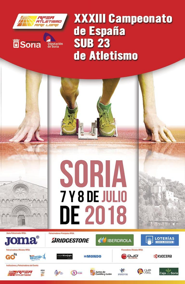 Ctº España Sub.23 y de clubes 4x100
