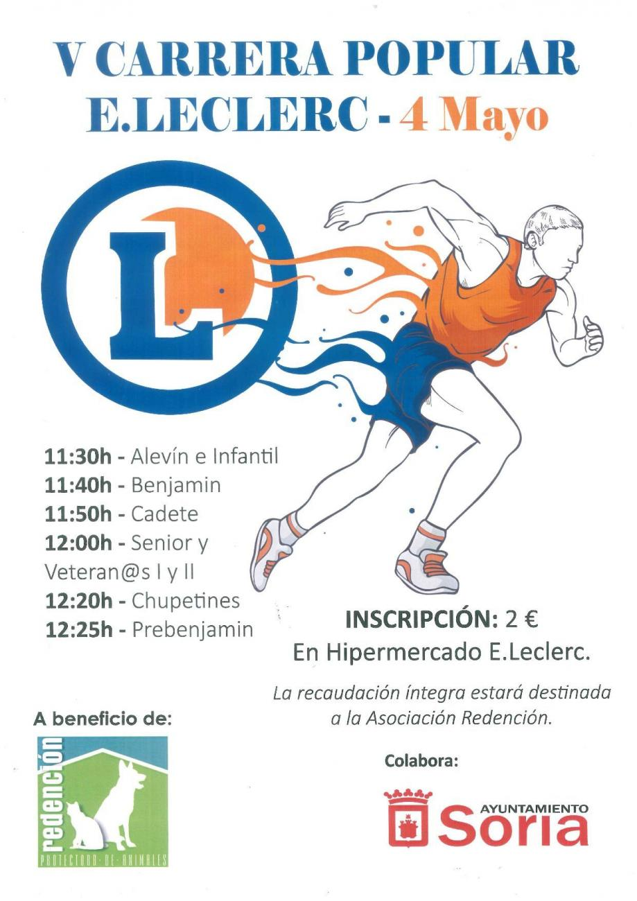 V Carrera Popular E. Leclerc