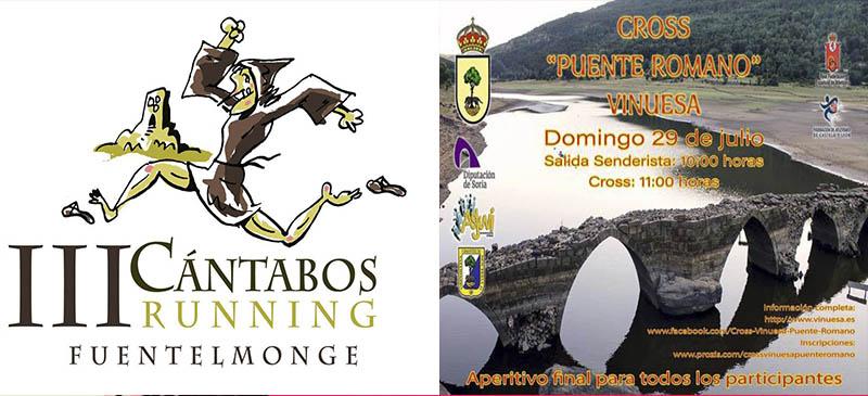 RESULTADOS III CANTABOS RUNNING DE FUENTELMONGE Y CROSS PUENTE ROMANO DE VINUESA