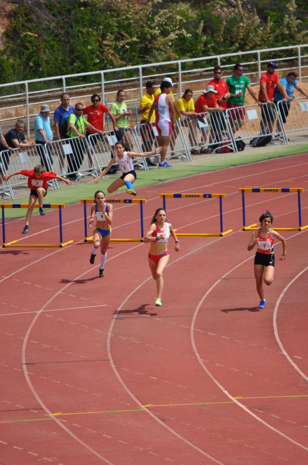 400 m. vallas femenino