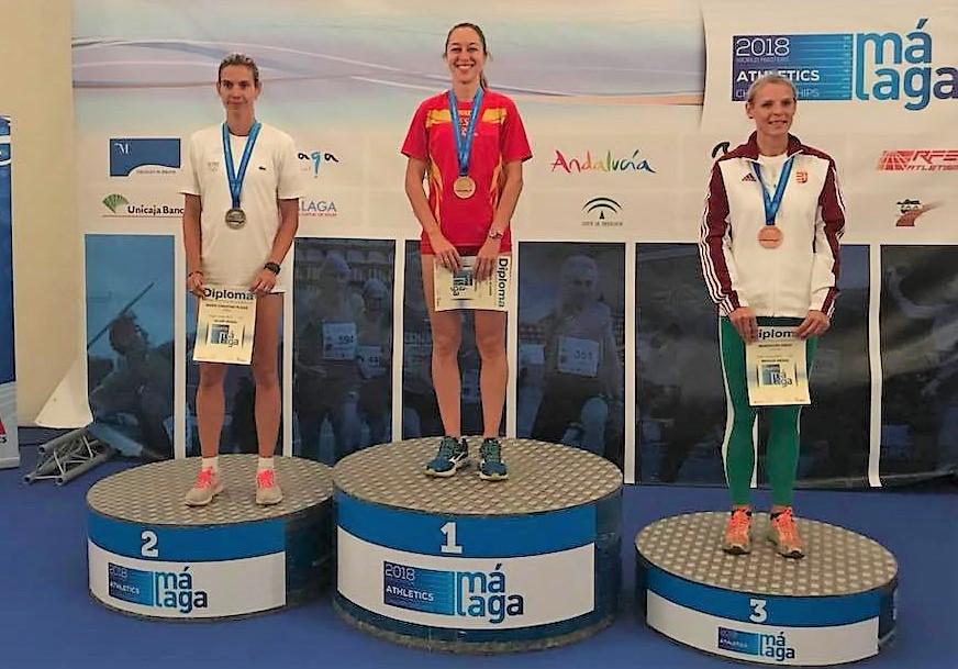 Raquel Alvarez, Campeona del Mundo de salto de altura.