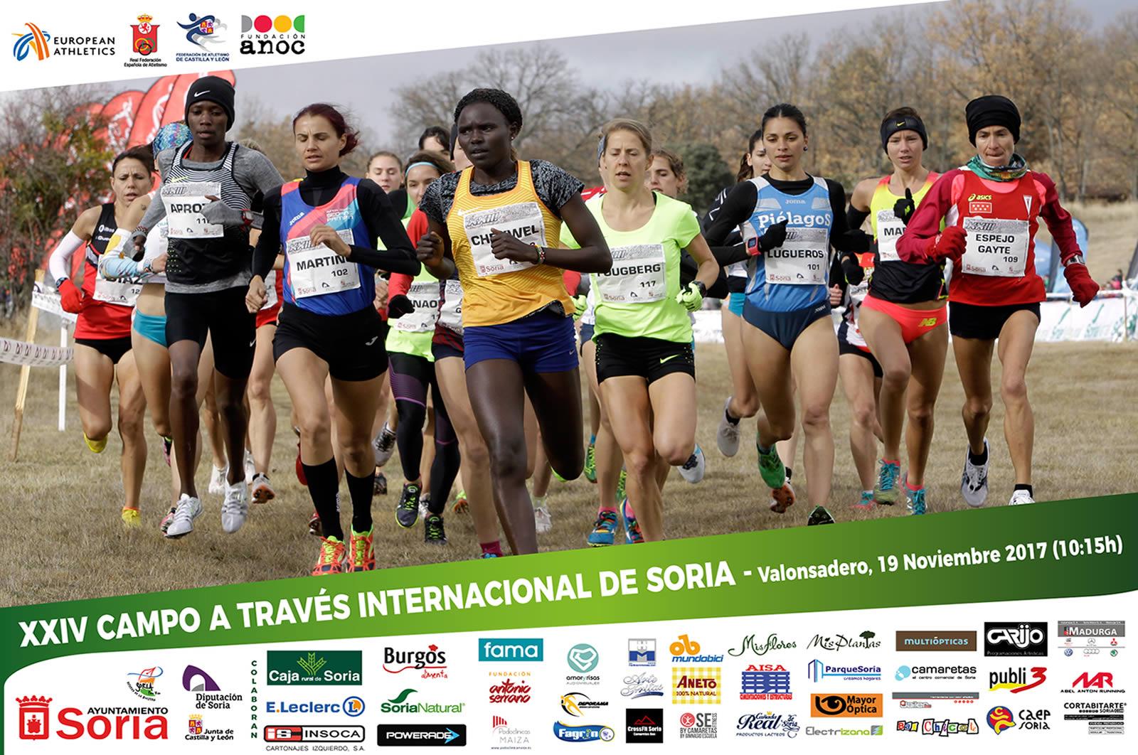 Cartel anunciador del XXIV Campo a través de Soria
