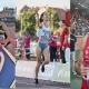 Raquel Alvarez, Campeona de España en altura , Marta Pérez en 1500 m. y Mario Arancon decatlón.
